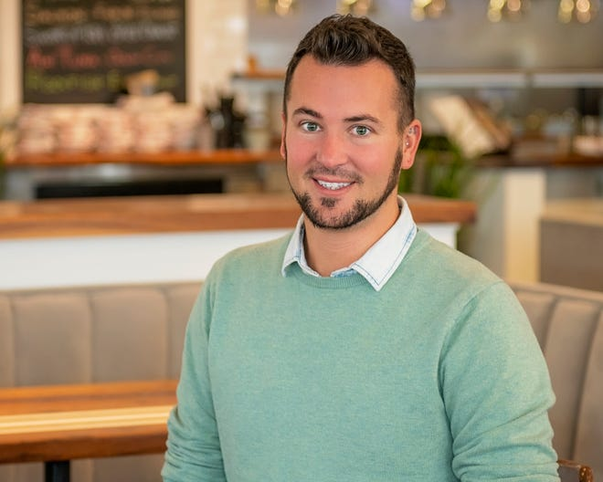 Chase Cline, director of catering for SoDel Concepts, is heading up all catering for the hospitality group, which has 12 restaurants in coastal Sussex County, Delaware. Cline handles catering in-house for six of the 12 restaurants, SoDel Weddings, and curbside carry out catering at all 12 locations.