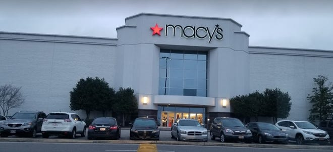 Macy's at Cross Creek Mall in Fayetteville.