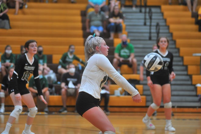 Smithville's Kiley Kalina might be the difference-maker this season for Smithville, making plays all over the court at libero.