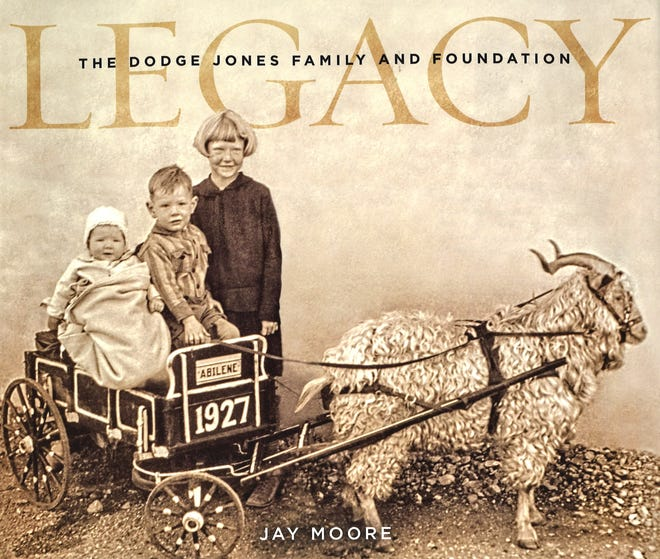 The cover of the book by Abilene historian and author Jay Moore, of which $28 of the $40 purchase price will go to the Abilene Heritage Square project.