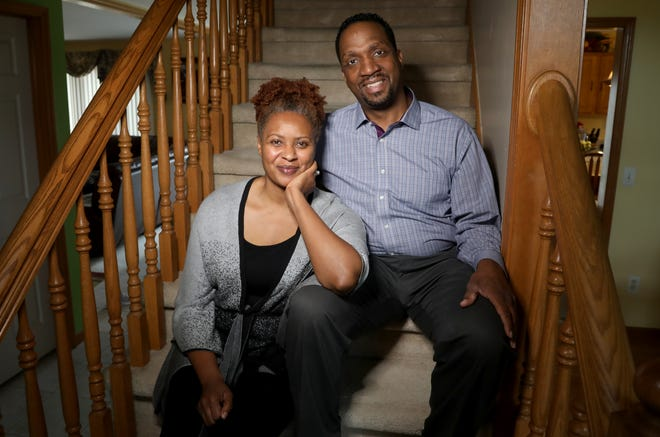 Paul and Carla Roseman in their Macomb Township, Michigan home on Wednesday, September 9, 2020. The Rosemans are part of the large African American voting block that can make a huge impact on this years 2020 election in November.