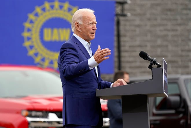 Joe Biden's policies would have given corrupt UAW bosses the power to have workers on the factory floor fired for refusing to fund their salaries and lavish spending, Mix writes.