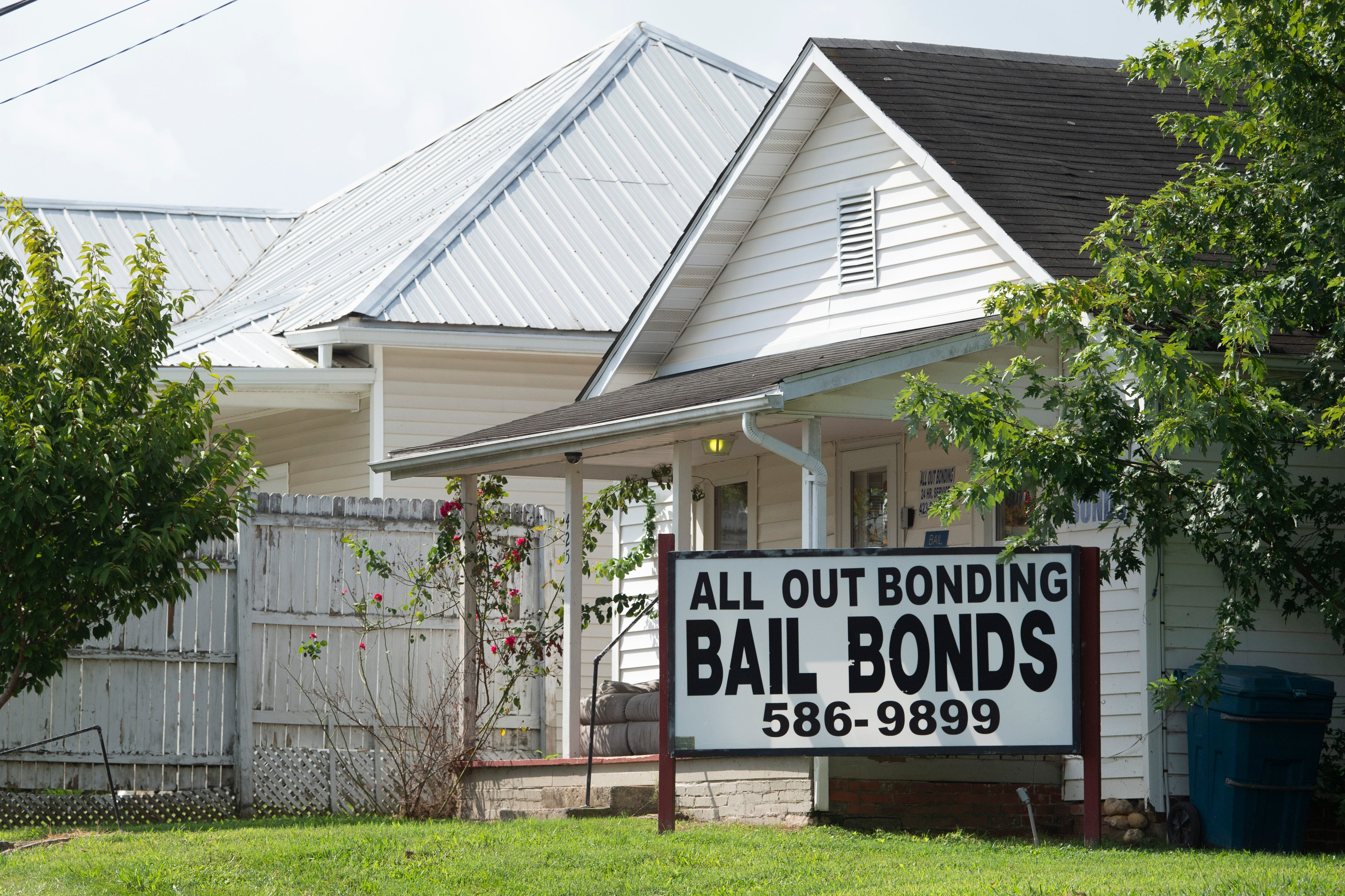 In East Tennessee's Hamblen County, the accused are given a list of bail bonds agencies as part of the booking process and allowed to use jail phones for free to call those companies. There is no evidence in Tennessee that the accused freed during the pandemic either failed to show up for court or committed new crimes at a rate any higher than in pre-COVID times.