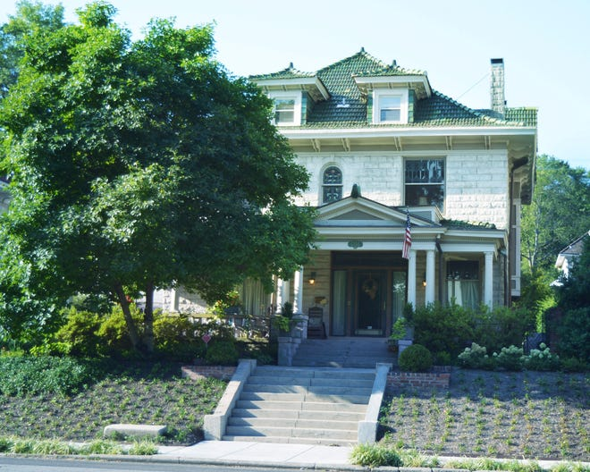 The Oliver House on Peabody is among the homes on this  year's pandemic-adjusted Central Gardens Home Tour Detour.