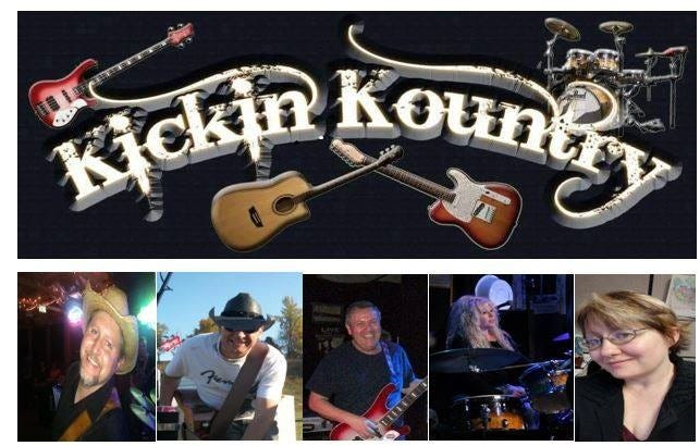 Kickin Kountry will be the featured band at this week's Friday Night Live music event.
