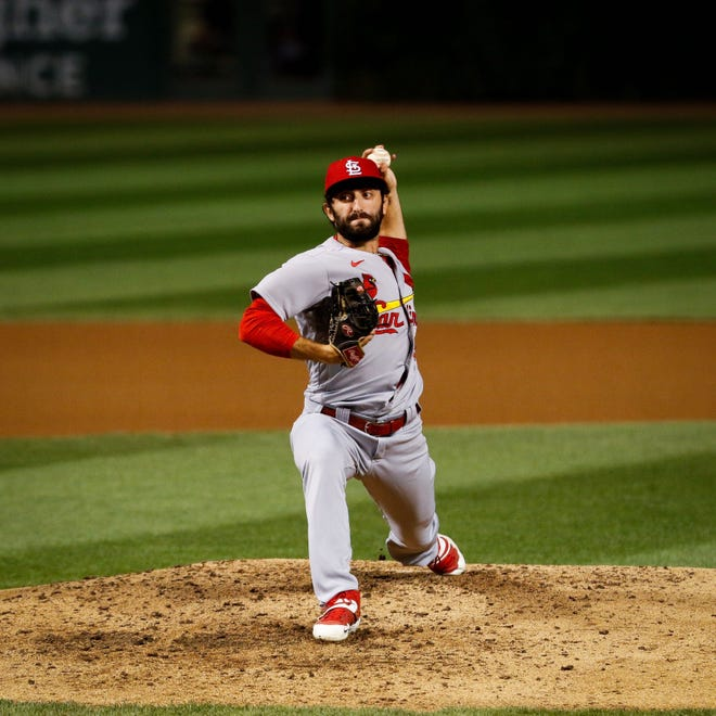 St. Louis Cardinals relief pitcher Rob Kaminsky made his major league debut on Aug. 16. An Englewood Cliffs native and St. Joseph Regional standout, Kaminsky was the 28th pick in the 2013 MLB Draft.