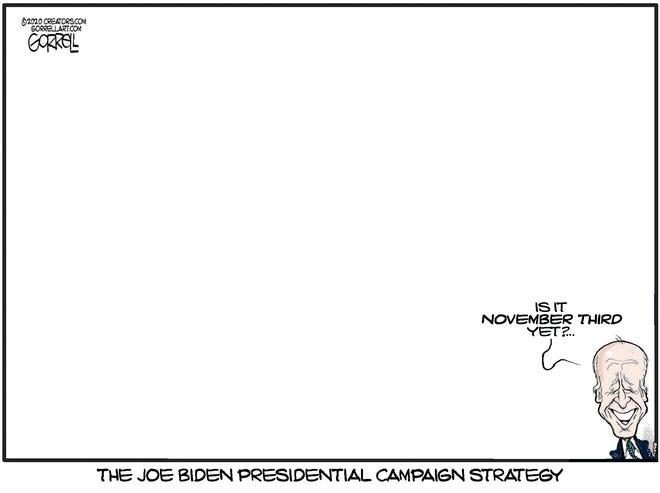 Biden's campaign strategy.