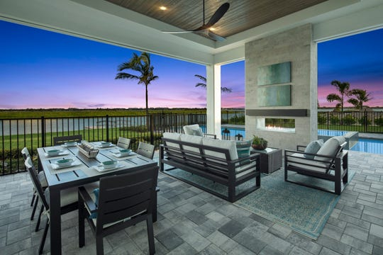 Seagate Development Group's furnished Monaco model is open for viewing and purchase at Esplanade Lake Club, a 778-acre resort lifestyle community being developed by Taylor Morrison just east of I-75 in Fort Myers.