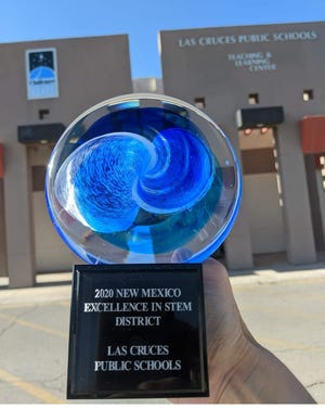 Las Cruces Public Schools won the 2020 STEMy award for top school district.