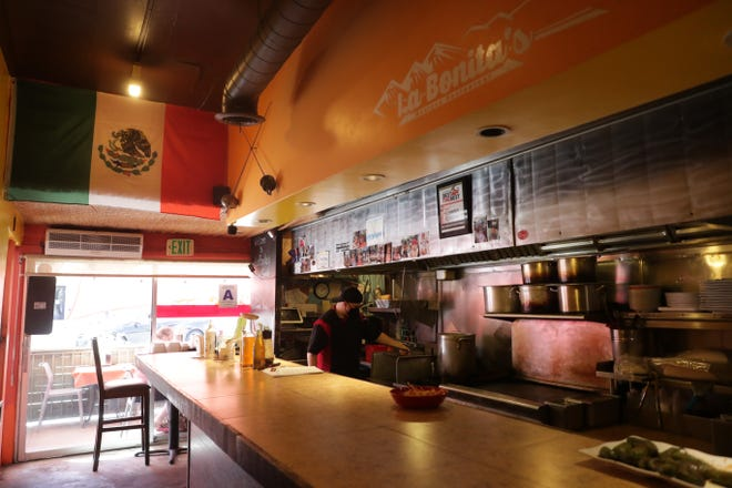 La Bonita's restaurant sits open on Wednesday, September 9, 2020, in Palm Springs, Calif. during the COVID-19 pandemic.