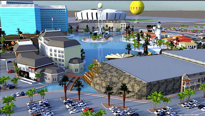 The Glendale City Council on Tuesday approved an agreement to bring Crystal Lagoons, Island Resort to the West Valley suburb. The massive water park attraction is planned to have a hotel, restaurants, bars and rides.