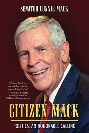 """""""Citizen Mack"""" is a new autobiography by former Sen. Connie Mack."""