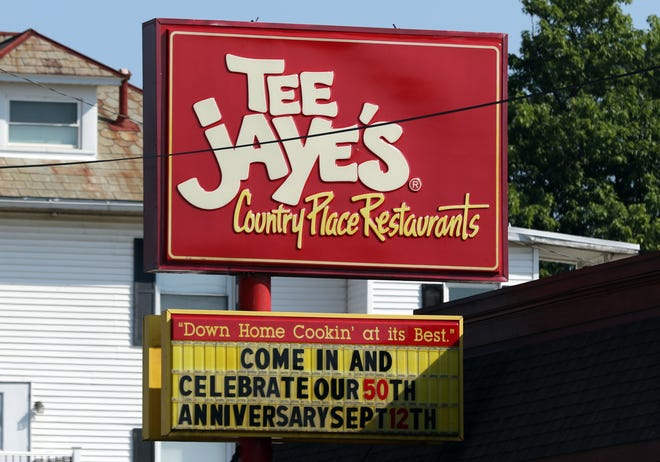 Tee Jaye's Country Place Restaurants are celebrating their 50th anniversary this month.