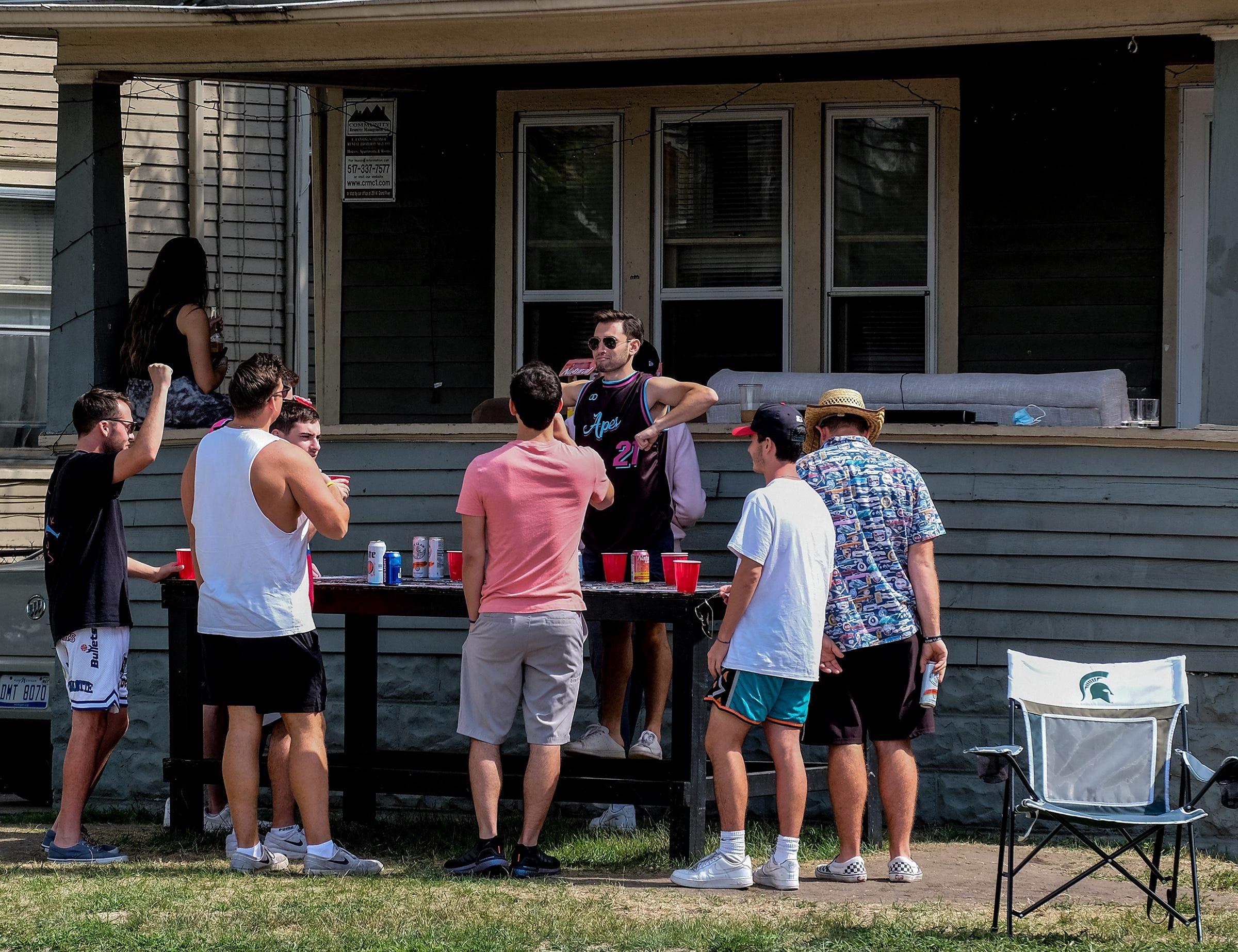 Michigan State University students