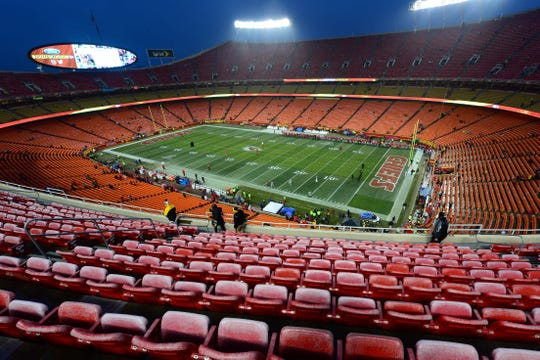 The defending champion Chiefs will be one of the few NFL teams allowing fans to attend their Week 1 contest, but their capacity will be maxed out at 22%.