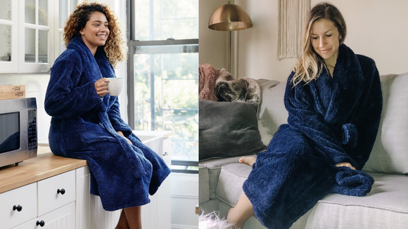 I tried Gravity's 'weighted robe'—and it's the new weighted blanket