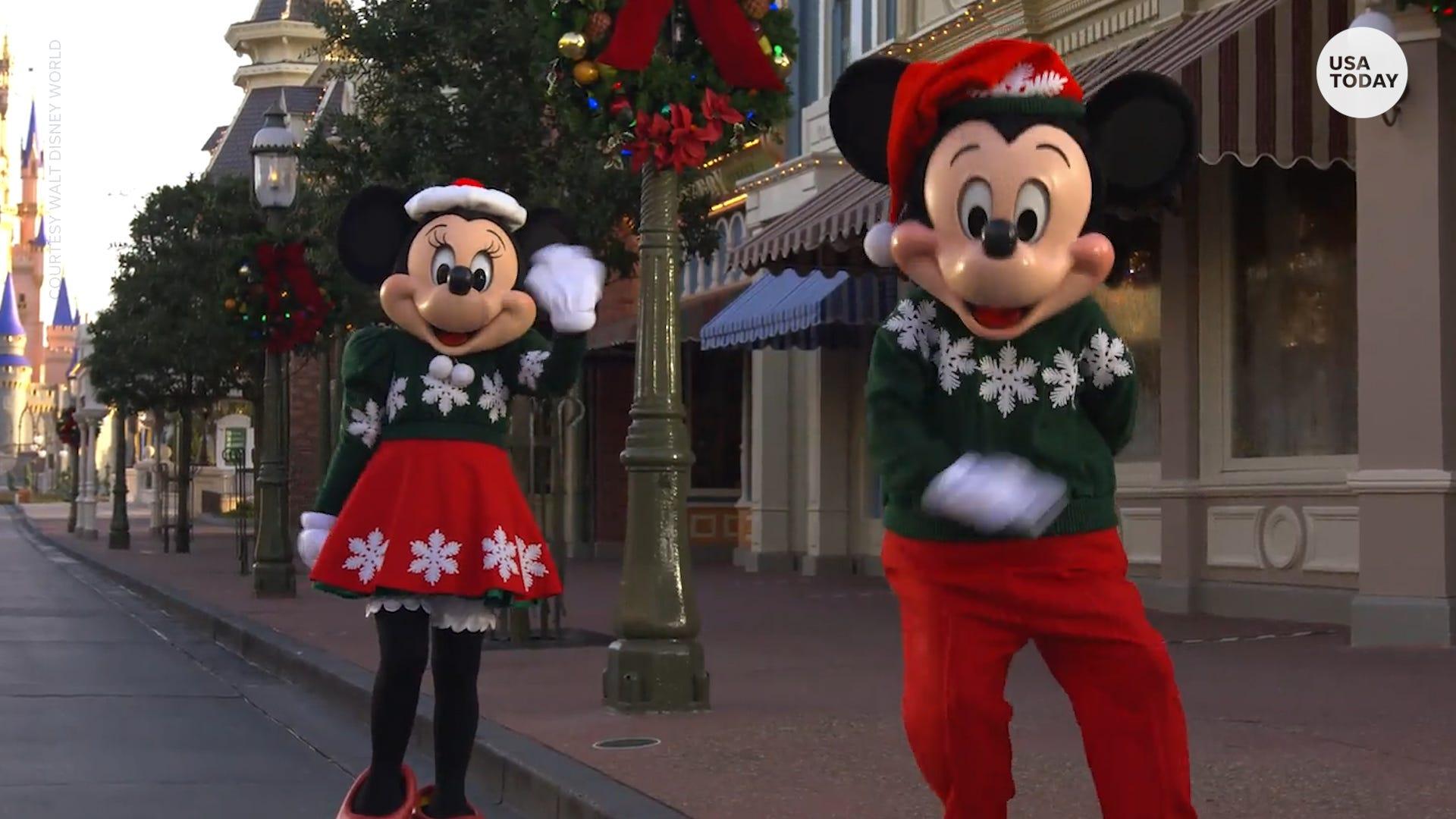 Disney announces 'reimagined holiday celebration' starting in November