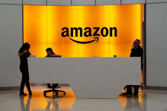 While other companies are shrinking, Amazon is growing. The company said Wednesday, Sept. 9, 2020, that it is seeking to hire 33,000 people for corporate and tech roles in the next few months.