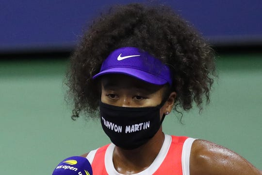 Naomi Osaka brought seven masks to the U.S. Open, each with the name of a victim of racial injustice.