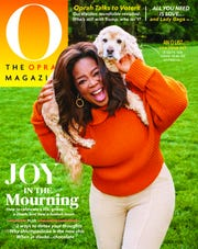 """Oprah Winfrey is back on the cover of her monthly magazine, """"O, The Oprah Magazine,"""" to shine the spotlight on mental health issues amid the pandemic."""