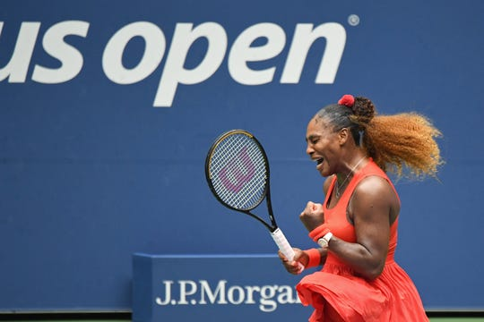 Serena Williams defeated Tsvetana Pironkova in the quarterfinals on Wednesday.