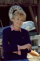 "Lansbury as Jessica Fletcher, the most celebrated citizen of Cabot Cove, Maine, in ""Murder, She Wrote."" TV audiences began their love affair with the long-running series when it premiered Sept. 12, 1984."