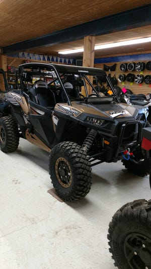 A 2017 Polaris RZR 1000 rock edition with power steering from Valley ATV can dominate the trails. Valley ATV, 27475 Jelloway Road, Danville, has a complete line of Polaris and Can-AM vehicles just for fun or for utility work.