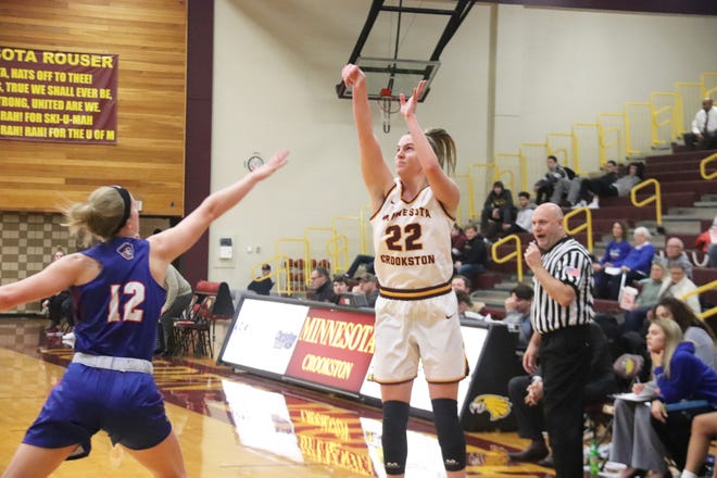 Mary Burke was one of 52 Minnesota Crookston student-athletes to receive the D2 ADA Academic Achievement award this season.