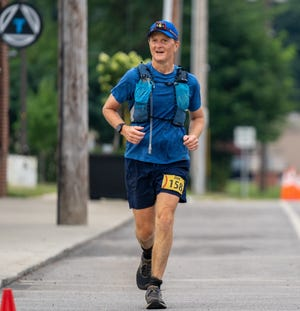 Jim Smucker competed a few weeks ago in the Burning River 100 Mile Endurance Race on Aug. 23. This past week, Smucker, the president of Keim in Charm, ran across Ohio from Cleveland to Cincinnati to raise funds for families whose homes were destroyed by the 2016 flood in West Virginia.
