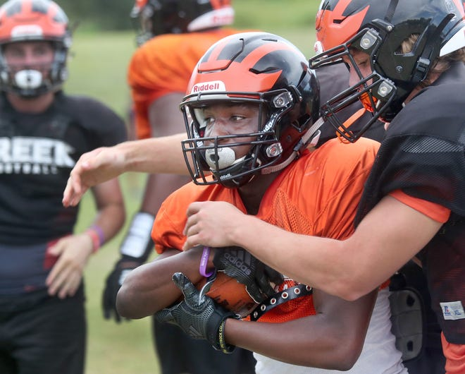 Spruce Creek will look to its receivers to lead the way on offense this season.