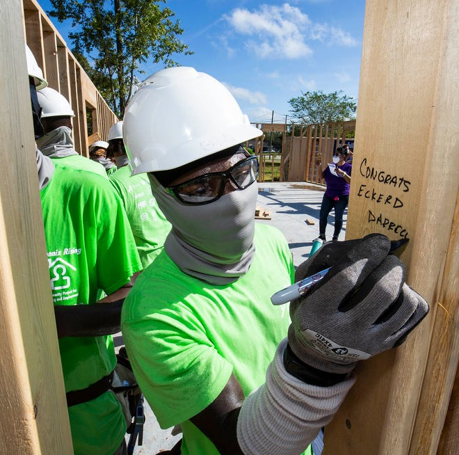 Habitat for Humanity is one of many nonprofit groups that could use a hand. Would you be willing to volunteer for a good cause in the community?