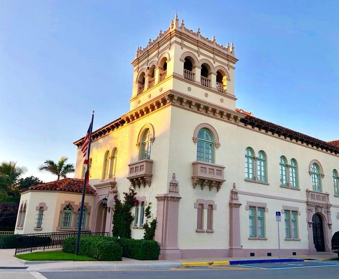 Palm Beach Town Hall. Photo by John David Corey