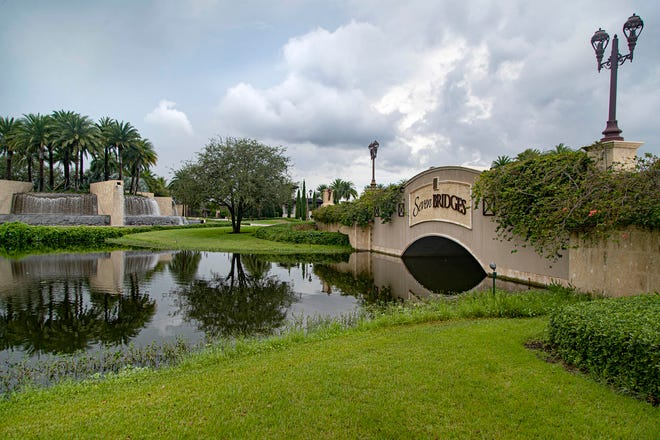 Jeffrey and Deborah LaGrasso have filed a $7 million federal lawsuit against the HOA of the Seven Bridges community in Boca Raton, claiming they did not adequately control religious discrimination against them. [ALLEN EYESTONE/palmbeachpost.com]