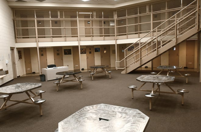 One of the pods at the Portage-Geauga Juvenile Detention Center.