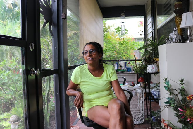 Diana Lefan, 59, has worked as a housekeeper in Sarasota since 2001. Before the pandemic, Lefan stayed busy with two to three jobs a day. But her work dropped off in March and Lefan has yet to see it return. Season of Sharing assisted her with rent in June.