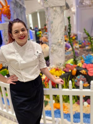 "Amy McBride of Sarasota is a contestant on this season of ""Halloween Wars,"" which premiers on the Food Network Sunday at 9 p.m."