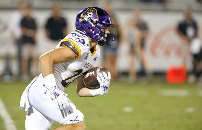 Tyler Snead,  who led ECU in receptions (66) and touchdown catches (5) last season, returns this year along with quarterback Holton Ahlers.