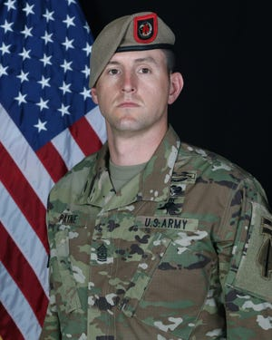 Sgt. Maj. Thomas 'Patrick' Payne will receive the Medal of Honor, highest honor for valor in combat. [Contributed photo]