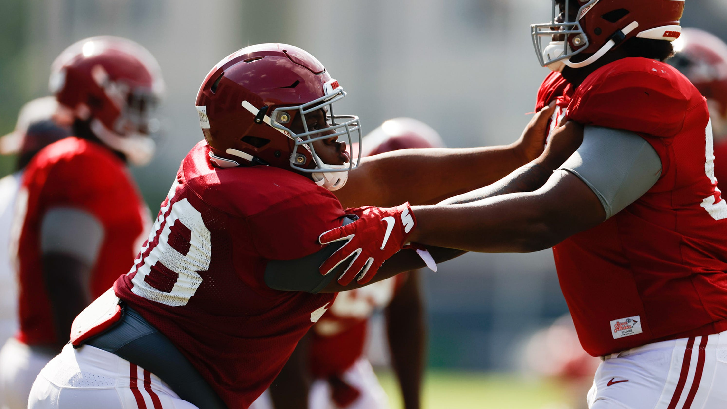 Alabama football: Jamil Burroughs steps into bigger role on defensive line in Ray's absence