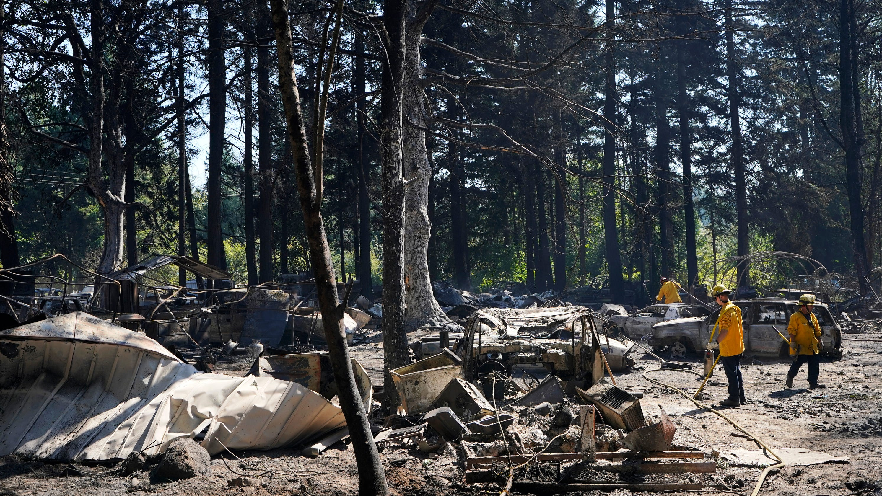 Northwest's new wildfire danger: 'It could happen anywhere in Kitsap'