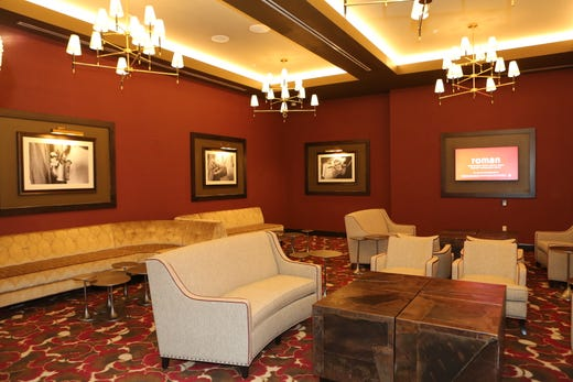 A view of the VIP Lounge at the new Oak Grove Racing & Gaming facility, set to open to the public on Sept. 18, 2020.