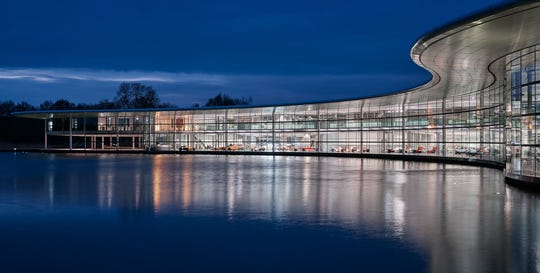 Designed by the globally renowned British architect Lord Norman Foster, the McLaren Technology Centre (MTC) has been home to the luxury sports-car maker since 2004.