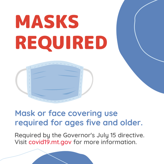 The state is using this promotion to remind people to wear a mask.