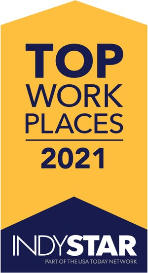 Top Workplaces 2021 honors the top companies in Central Indiana.