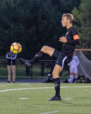 Brighton's Josh Adam was the 2019 Livingston County Player of the Year.