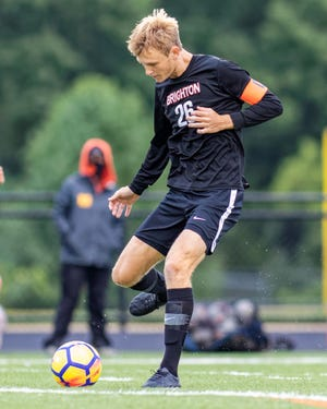 Brighton's Josh Adam is a four-year varsity starter who has committed to Michigan State University.