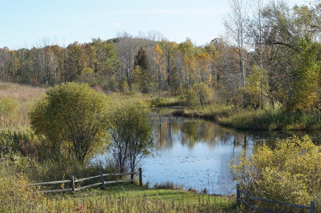 Visitors can view Riveredge Nature Center in Saukville at upcoming outdoor beer dinners and wine hikes.