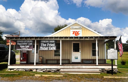 The store in Rockvale that has been different buisnesses over the last few hundred years will once again open it's doors to be the newest Rockvale restaurant The Fried Tater Cafe'.