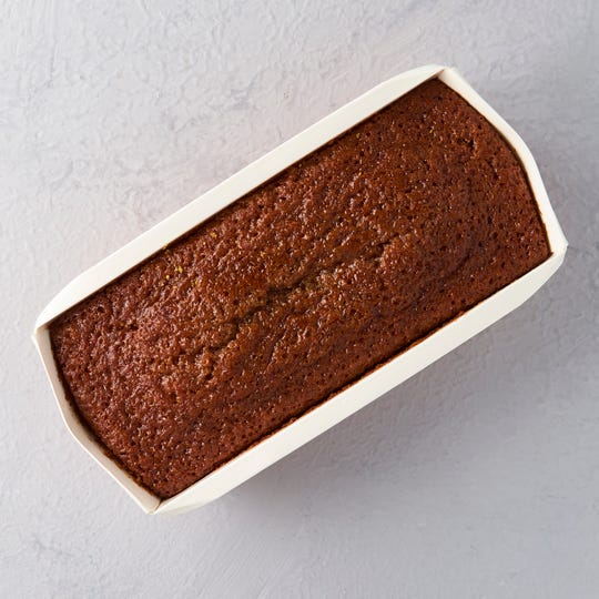 The honey cake from Liv Breads is light, moist and dairy-free.