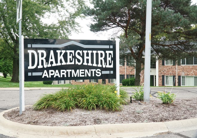 Farmington's Drakeshire Apartments complex.